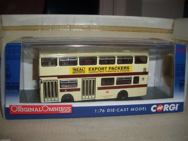 Corgi OOC 1/76 OM45123 A OM45123A MCW Metrobus Leicester City 88 Eyres Monsell